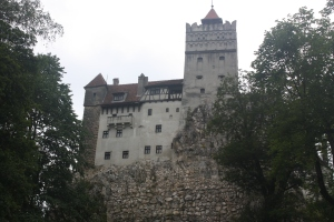 "Bran Castle, known to tourists as ""Dracula's Castle."""