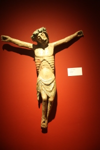 One of the 800 crucifixes on display at the museum in Liesborn.