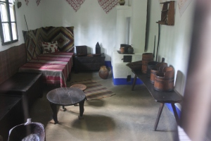 Interior of an 18th century dwelling.
