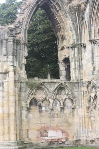 St. Mary's Abbey, York.