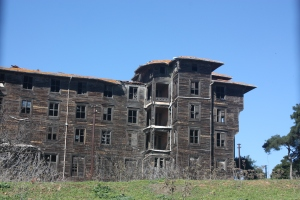 A closer shot of what must have been a huge institution with hundreds of children.