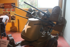 American Maxson 50- calibre quadruple ant-aircraft machine gun.