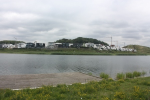 Phoenix Lake is part of the Phoenix See area of Dortmund.