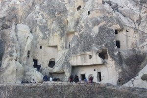 The Goreme Open Air Museum doesn't look like other museums. The caves, carved centuries ago, are a big attraction for what is inside, not what they look like.