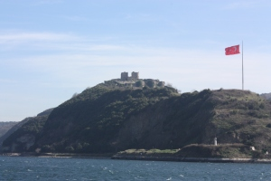 The remains of Yoros Castle can be seen on the hill as your boat arrives at Andolu Kavagi.