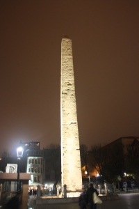 Egyptian obelisk in the Hippodrome. Apparently it is not only the English who remove archeological treasures.