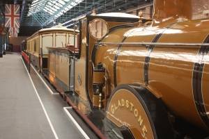 One of the trains used by the Royal Family in the first half of the 20th century.