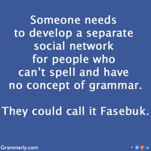 grammarly-fasebuk