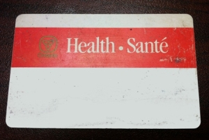 Old Health Card