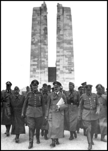 Hitler at Vimy