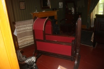The Macdonald family cradle was brough to Canada in 1820
