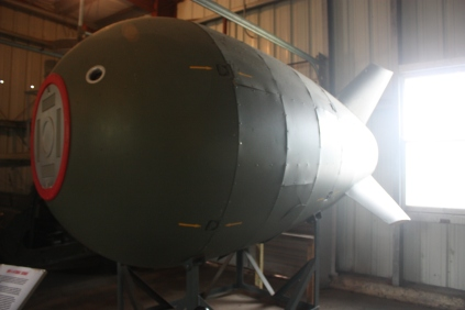 An MK-4 atomic bomb. Disarmed of course.