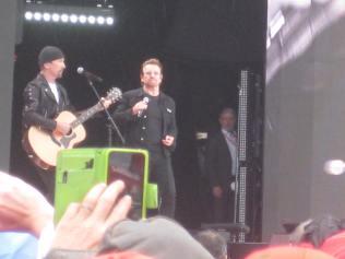 Th Edge and Bono