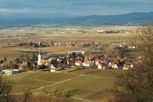The town of Ballrechten